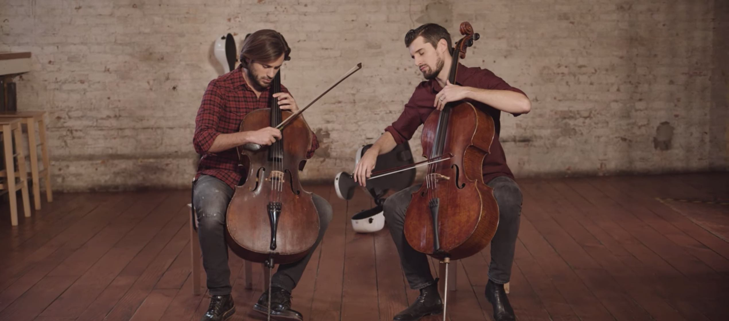 "I 2Cellos suonano ""Perfect"" di Ed Sheeran"