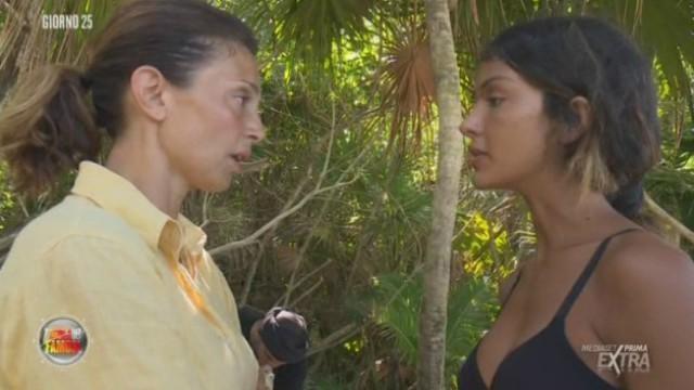 Isola dei Famosi 2018: forte scontro tra Rosa Perrotta e Alessia Mancini