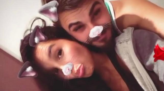 selfie Francesco Monte e Paola Di Benedetto
