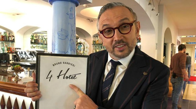 4 hotel: stasera la prima puntata del programma condotto dallo chef Bruno Barbieri