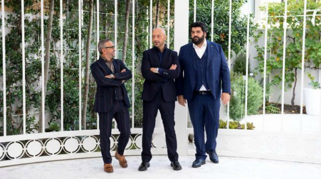 Celebrity Masterchef Italia 2 esterna al Lume di Milano