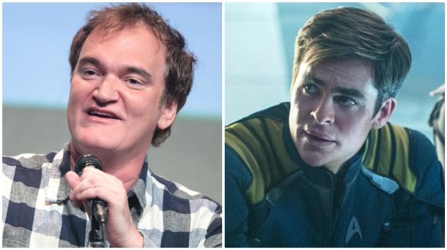 Quentin Tarantino non ha ancora scritto il copione del suo Star Trek