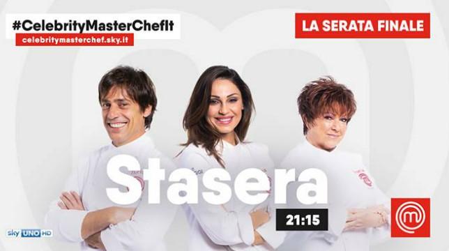 Celebrity Masterchef Italia 2: stasera 5 aprile 2018, la Finale
