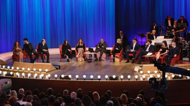 Maurizio Costanzo Show, stasera 12 aprile 2018: ospiti Marrone, Lucarelli, Magalli