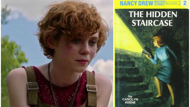 Sophia Lillis da Beverly in It a giovane detective in Nancy Drew and The Hidden Staircase