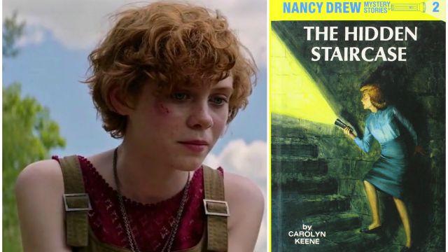 Sophia Lillis da Beverly in It a giovane detective in Nancy Drew and The Hidden Staircase