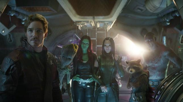 Avengers Infinity War Guardiani della Galassia