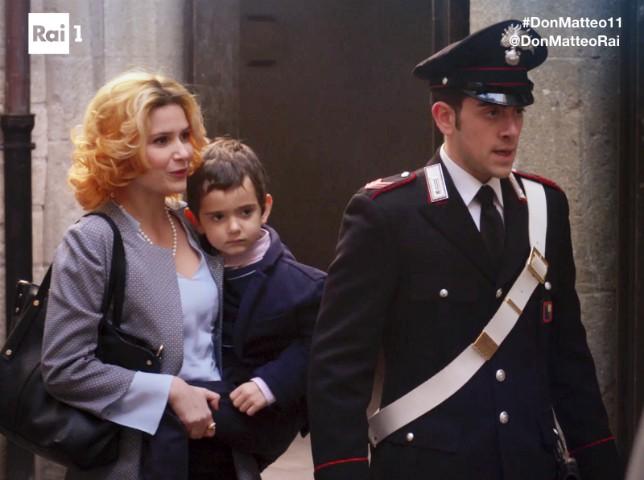 Don Matteo 11 dodicesima puntata Zappavigna donna e Cecchini