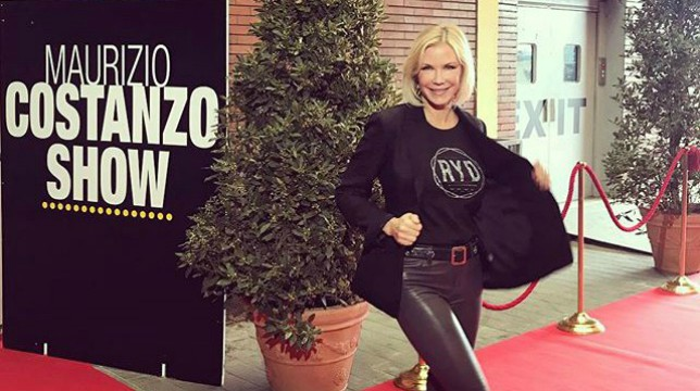 Maurizio Costanzo show 5 aprile 2018 ospite Katherine Kelly Lang