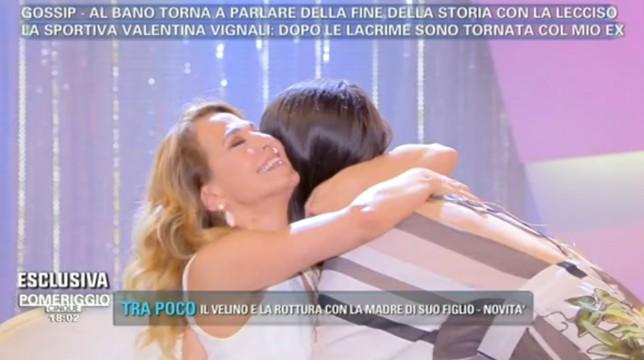 """Valentina Vignali e Barbara D'Urso fanno pace: """"Non ho detto che sei una cretina"""""""