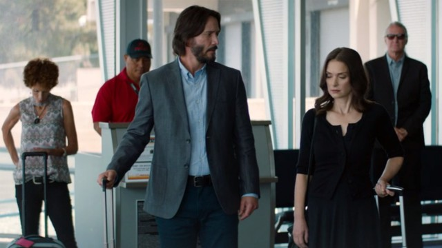 Keanu Reeves e Winona Ryder nel trailer della commedia romantica Destination Wedding