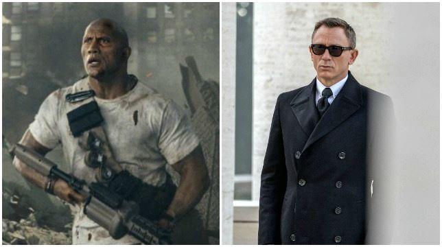 Daniel Craig, Dwayne Johnson e Vin Diesel sono gli attori più pagati di Hollywood