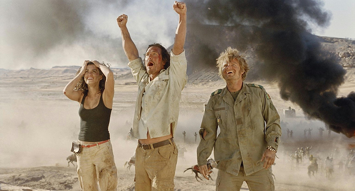 Sahara con Matthew McConaughey e Penélope Cruz: il film stasera su TV8