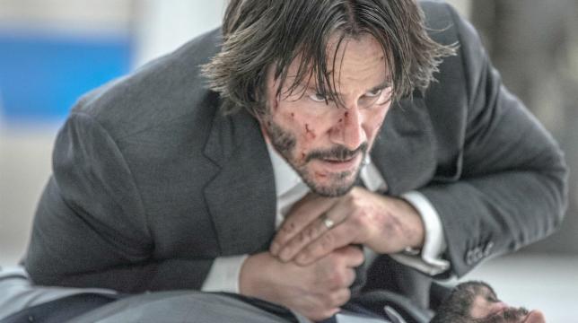 Keanu Reeves nella prima immagine dal set di John Wick 3