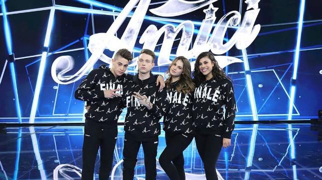 Amici 17, serale: Irama, Lauren, Carmen e Einar sono i finalisti del talent, eliminata Emma