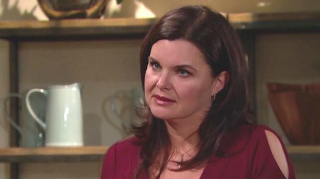 Beautiful anticipazioni venerdì 15 giugno 2018: Katie mantiene il segreto su Bill, come promesso a Brooke