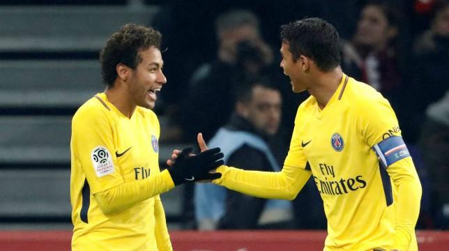 Mondiali 2018 Neymar Thiago Silva Brasile Svizzera