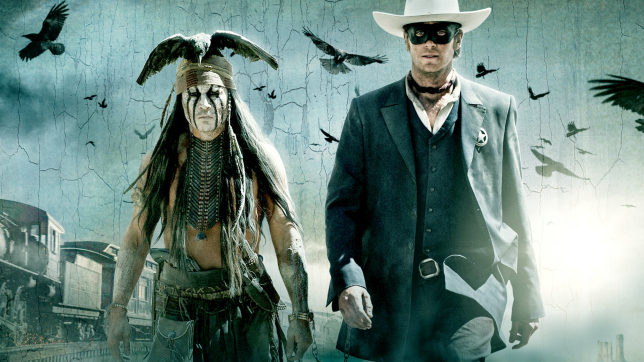 The Lone Ranger, il film con Johnny Depp stasera su Rai 2