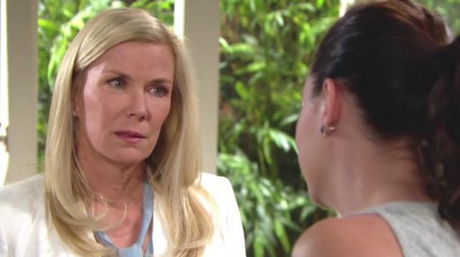 Beautiful Anticipazioni 13 luglio 2018: Brooke confida a Katie di aver chiuso con Bill