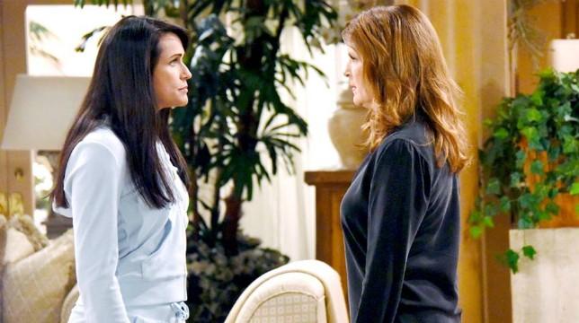 Beautiful Anticipazioni del 26 luglio 2018: Sheila vuole cacciare Quinn da Villa Forrester