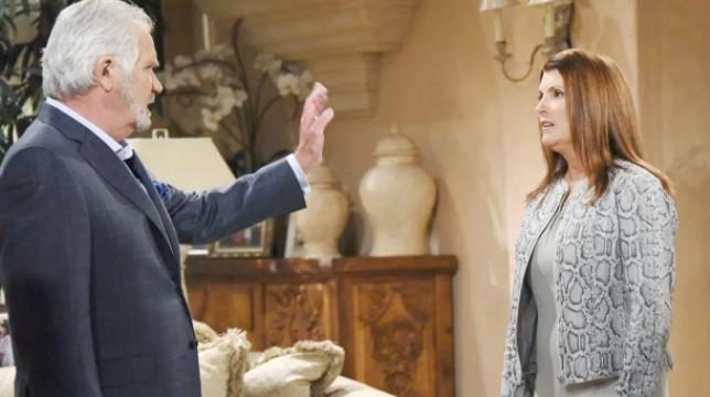 Beautiful Anticipazioni 27 luglio 2018: Sheila prega Eric di concederle un ultimo addio da soli