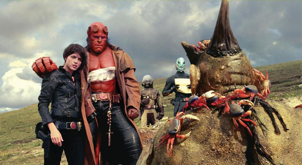 Hellboy II – The Golden Army: Il film stasera su Italia 2