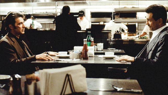 Heat – La sfida: il film con De Niro e Pacino stasera su TV8