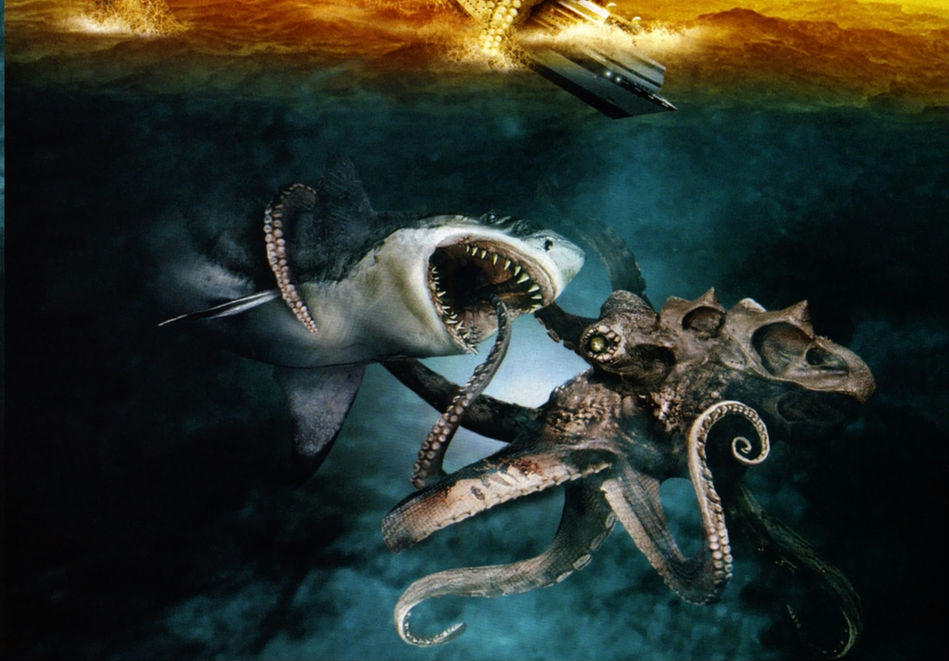 Mega Shark vs Giant Octopus: il film catastrofico stasera su Cielo alle 21:15