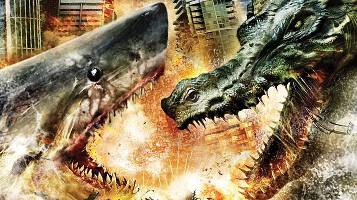 Mega Shark vs Crocosaurus: il film catastrofico stasera su Cielo alle 21:20