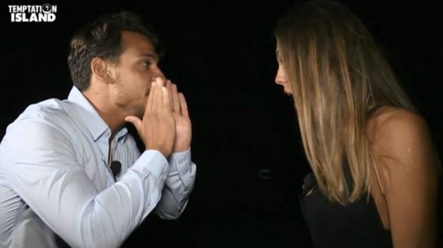 Temptation Island 2018: Martina e il tentatore Andrea in vacanza insieme, la reazione di Gianpaolo