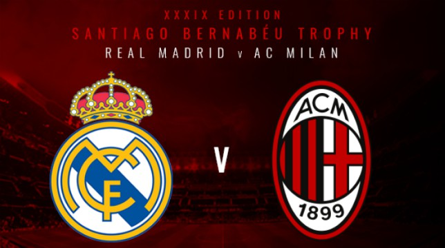 Trofeo Santiago Bernabéu: dove e come vedere Real Madrid vs Milan