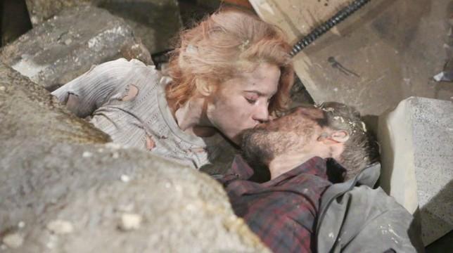 Beautiful Anticipazioni 21 agosto 2018: Dopo l'esplosione nell'edificio della Spectra Sally bacia Liam in mezzo ai detriti