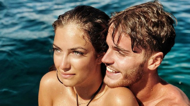 Temptation Island Vip: Nilufar Addati e Giordano Mazzocchi in partenza per l'inizio del reality, con loro Nicolò Ferrari