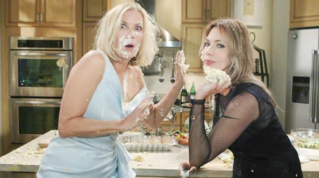 Beautiful Anticipazioni Americane: Brooke e Taylor si tirano la torta nuziale in faccia!