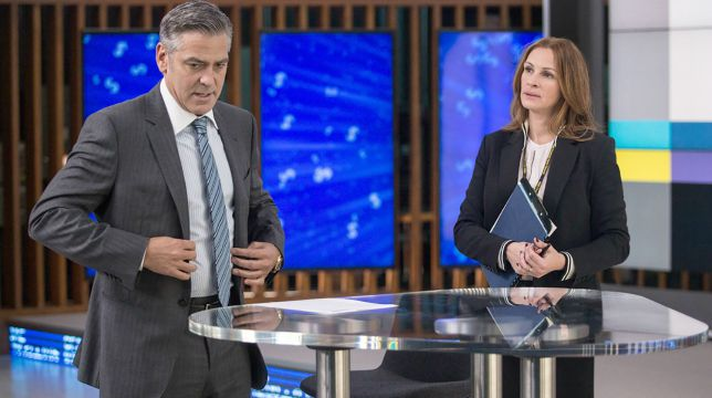 Money Monster con George Clooney e Julia Roberts stasera su Rai 3