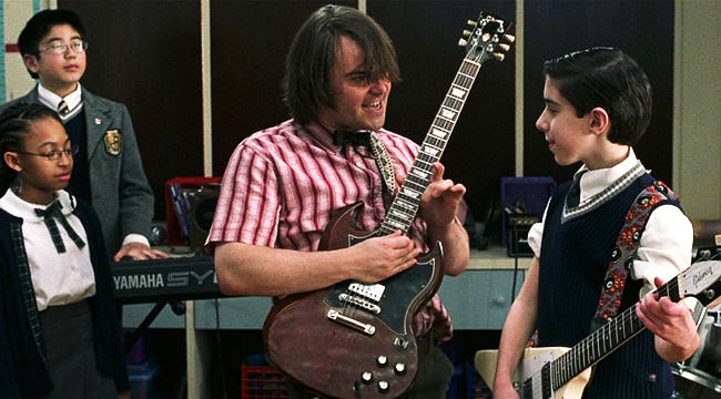 School of Rock: Il film stasera su Spike