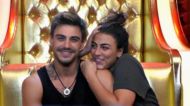 Grande Fratello Vip: la missiva d'amore di Francesco Monte per Giulia Salemi