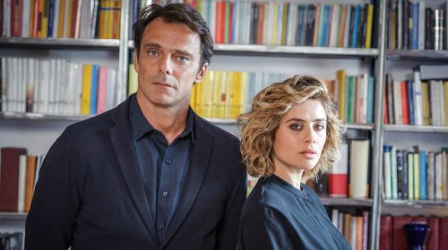 Alessandro Preziosi sul set di Non Mentire, prossimamente su Canale 5