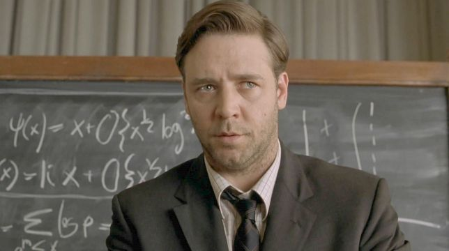 A Beautiful Mind: il film con Russell Crowe di Ron Howard stasera su Iris