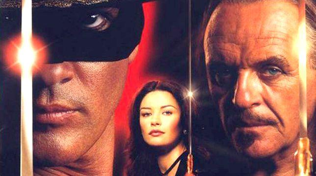 La maschera di Zorro: il film con Antonio Banderas stasera su Nove