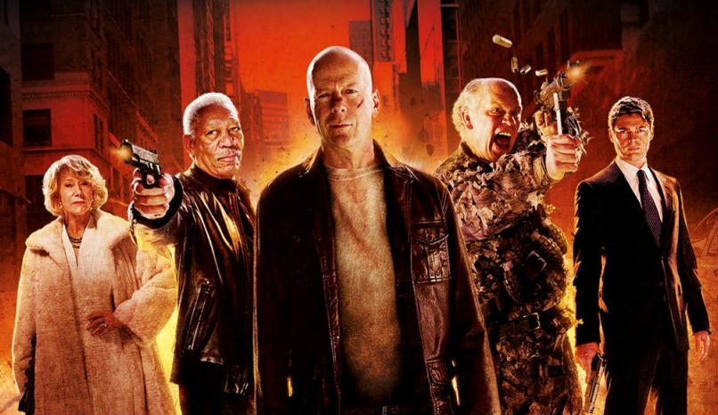 RED: il film con Bruce Willis, Morgan Freeman e Helen Mirren stasera su Italia 1