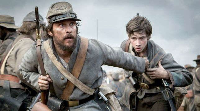 Free State of Jones con Matthew McConaughey stasera su Rai Movie
