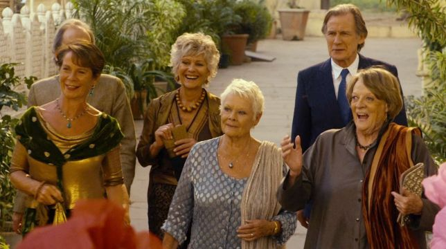 Marigold Hotel: il film con Maggie Smith e Judi Dench stasera su Rai Movie