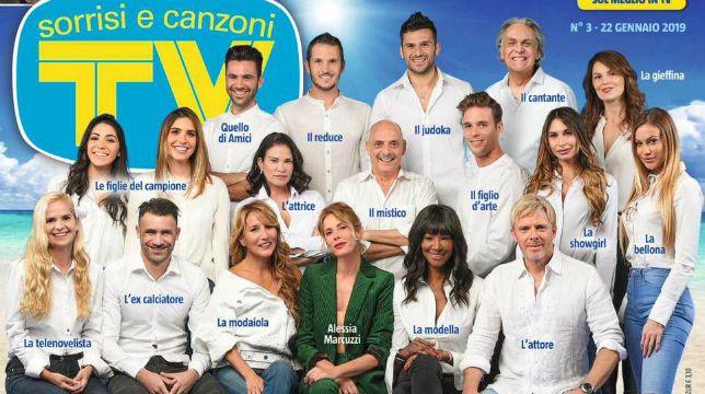 Isola dei Famosi 2019, tutti i concorrenti, la foto del cast ufficiale