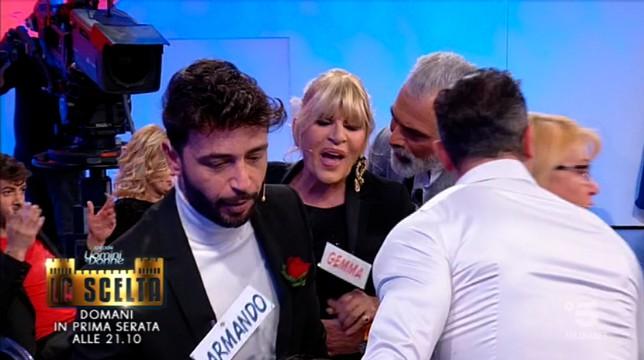 Uomini e Donne Gemma contro Gian Battista