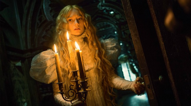Crimson Peak: il film di Guillermo del Toro stasera su Italia 1