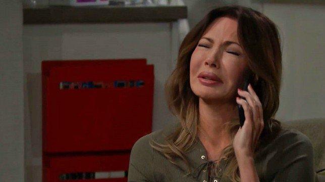Beautiful Anticipazioni Americane: Taylor e Bill scioccati da una telefonata