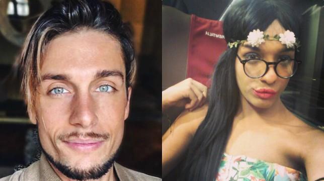 Uomini e Donne: Andrea Dal Corso e i messaggi con la trans Guendalina Rodriguez