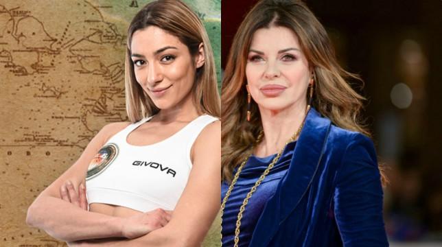 """Isola dei Famosi 2019, Alba Parietti prende le parti di Soleil: """"È fortissima"""""""