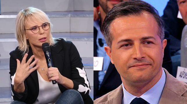 Uomini e Donne, Maria De Filippi commenta lo schiaffo a Riccardo Guarnieri
